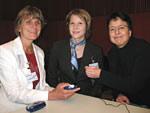 Von links: Frau Droßel, Frau Frör, Frau Uphoff